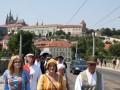 Der Salzzug durch Prag