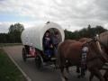Ankunft der Lößnitzer Kutsche
