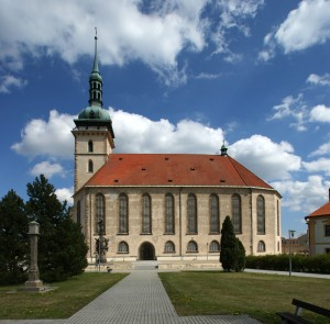 Stadtkirche Most