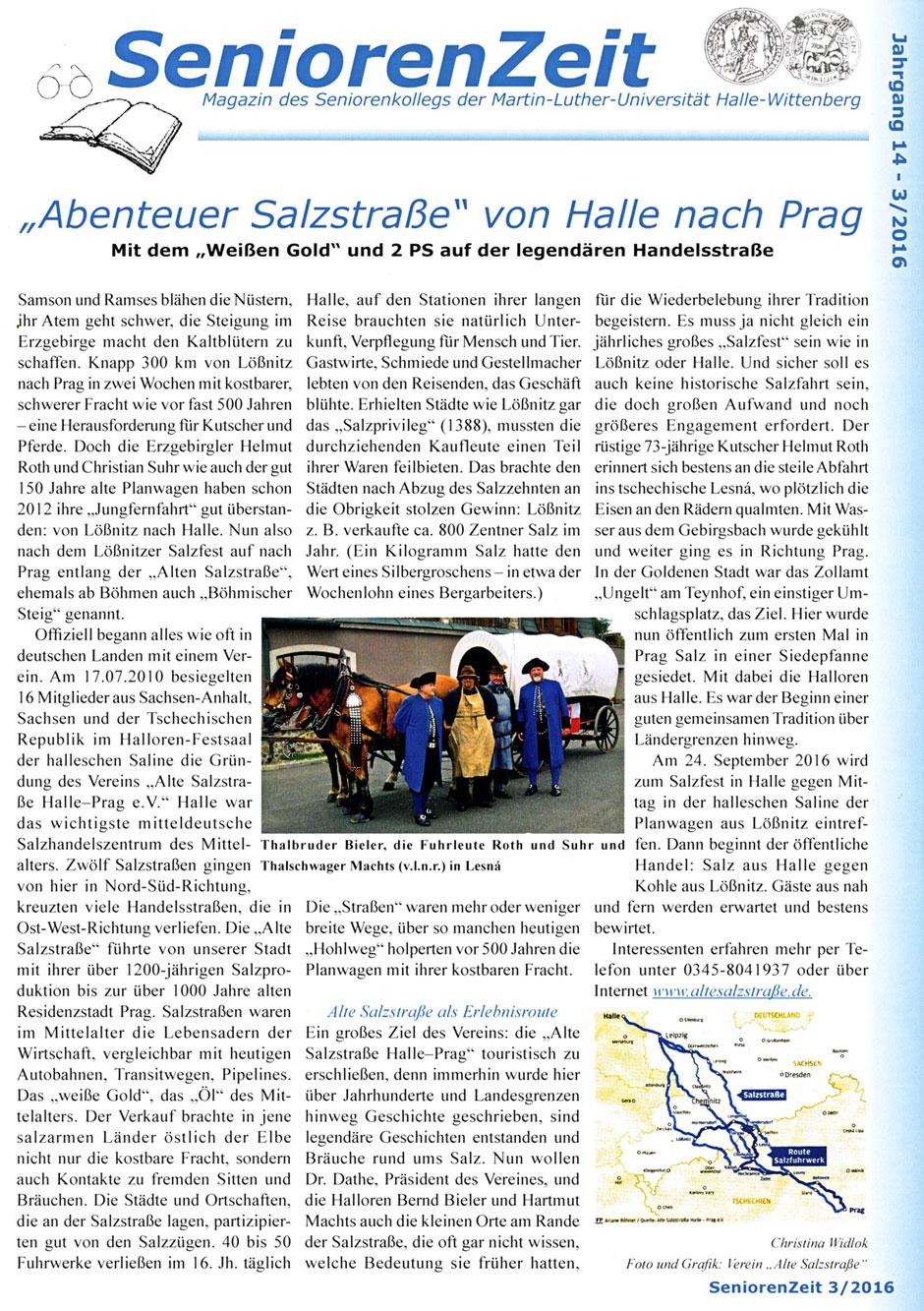 Quelle: SeniorenZeit, Magazin des Seniorenkollegs der Martin-Luther-Universität Halle-Wittenberg, Ausgabe 3/2016