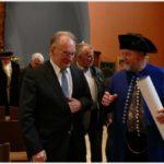Besuch des Ministerpräsidenten von Sachsen-Anhalt Dr. Reiner Haseloff in der Lutherkirche in Halle/Saale