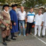 Besuch einer Delegation des Vereins Alte Salzstraße Halle-Prag, anlässlich des 25. Schloss- und Schützenfestes in Zschopau/Sachsen am 24. und 25.08.2019